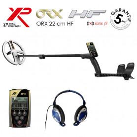 Détecteur XP ORX 22 centimètres avec télécommande et casque filaire