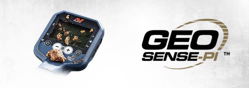 Technologie Minelab GEO Sense-PI
