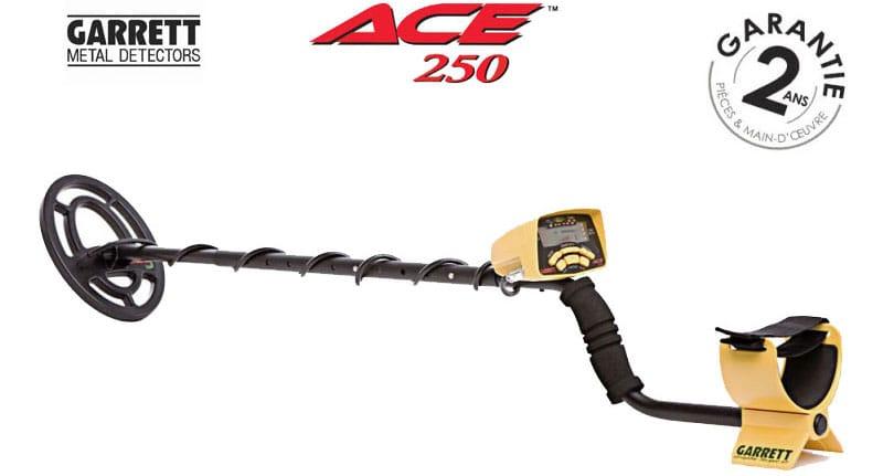 Le détecteur Garrett ACE 250