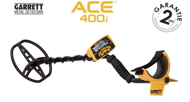 Le détecteur Garrett ACE 400i