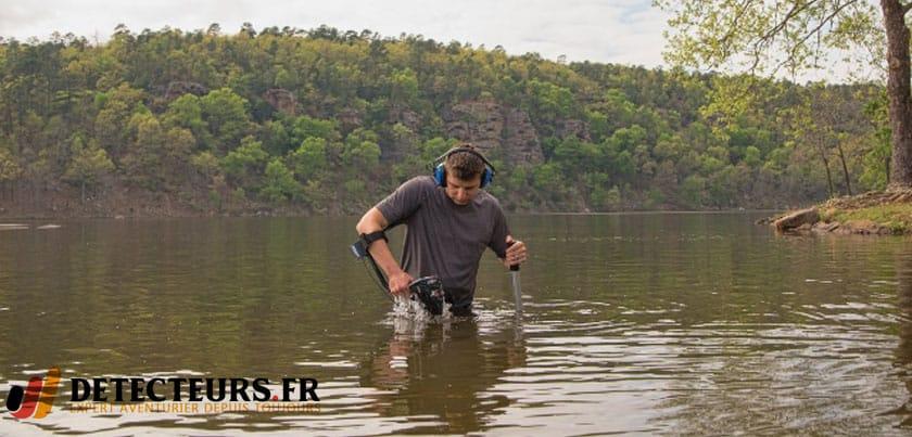 Garrett AT Max, détecteur de métaux étanche à 3 mètres