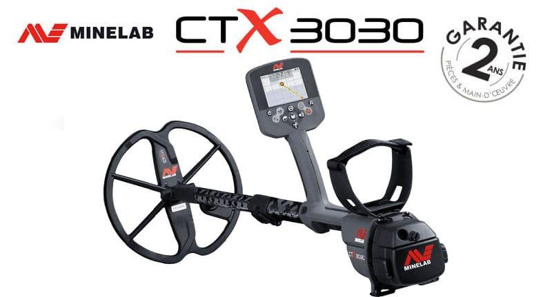 Le détecteur CTX 3030