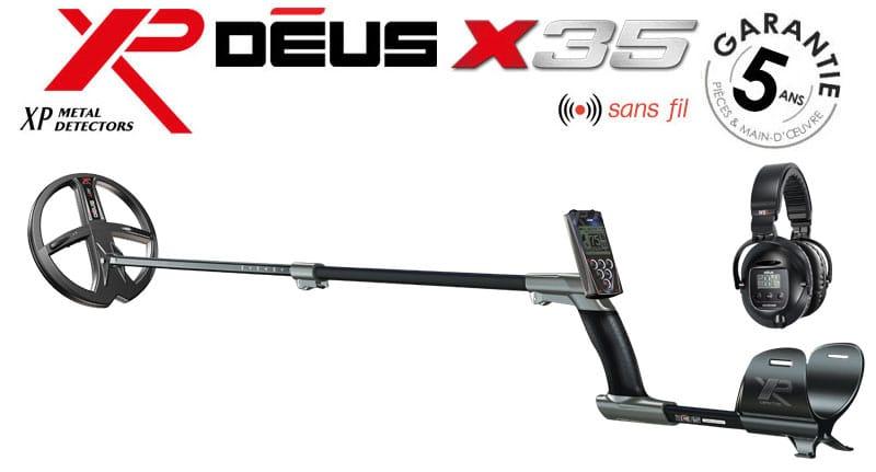 Le détecteur Déus X35
