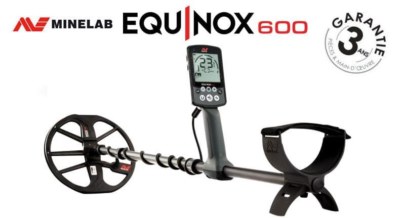 Le détecteur Equinox 600