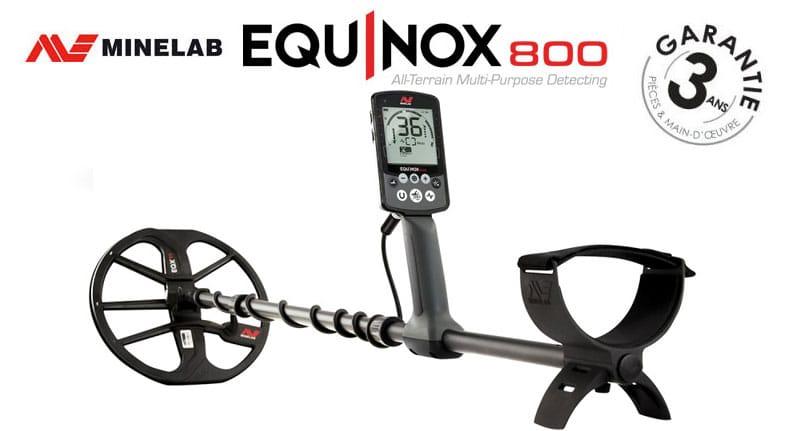 Le détecteur Equinox 800