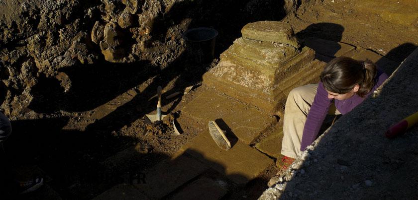 interdit de détecter sur un site archéologique