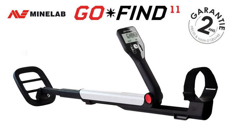 Le détecteur Go Find 11