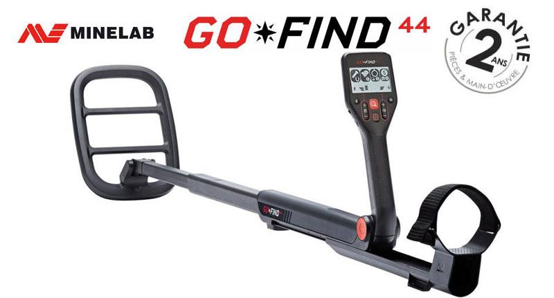 Le détecteur Minelab Go-Find 44