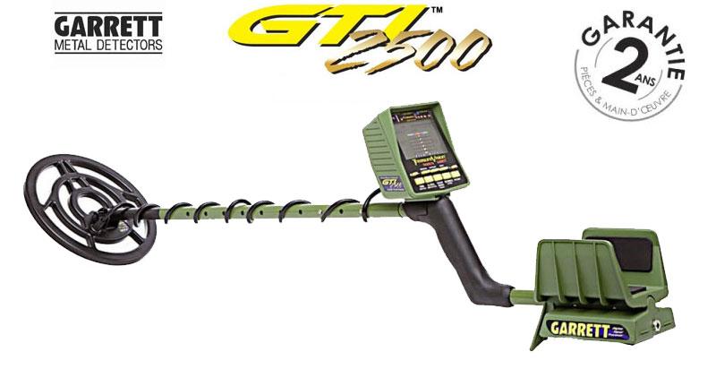 Le détecteur GTI 2500 et l'antenne grande profondeur Eagle Eye
