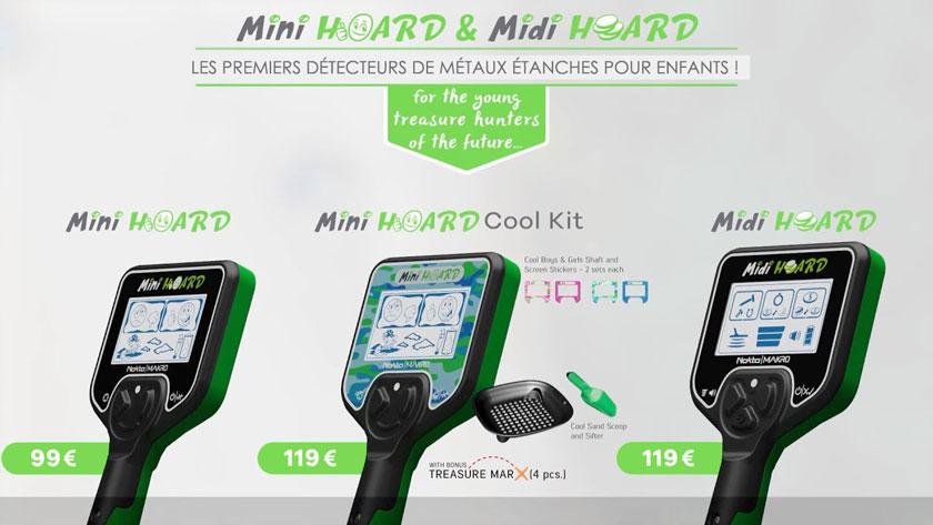 Prix Mini Hoard & Midi Hoard Nokta Makro