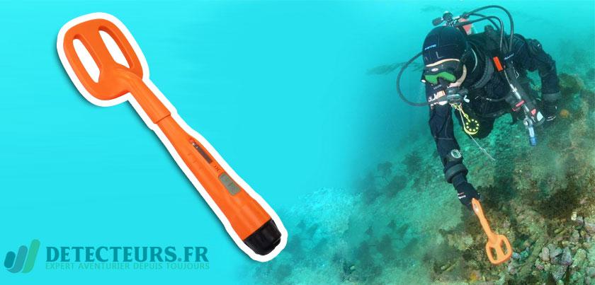 Détecteur de métaux sous marin étanche Quest Scuba Tector
