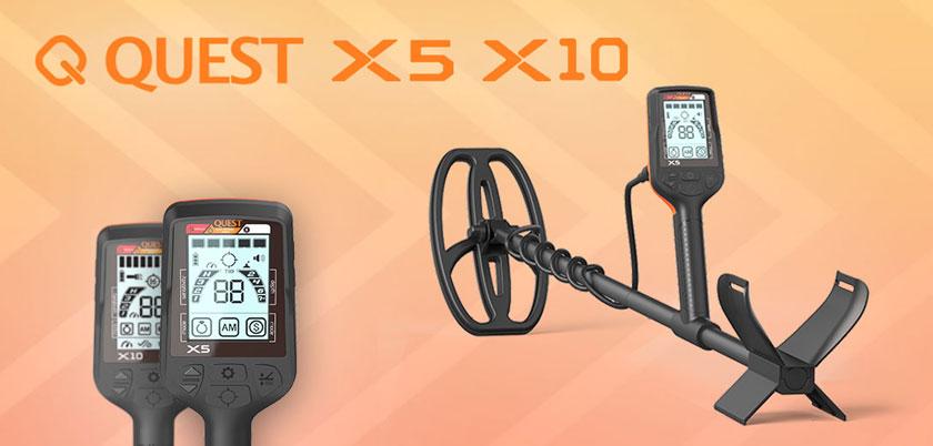 Quest X5 et X10