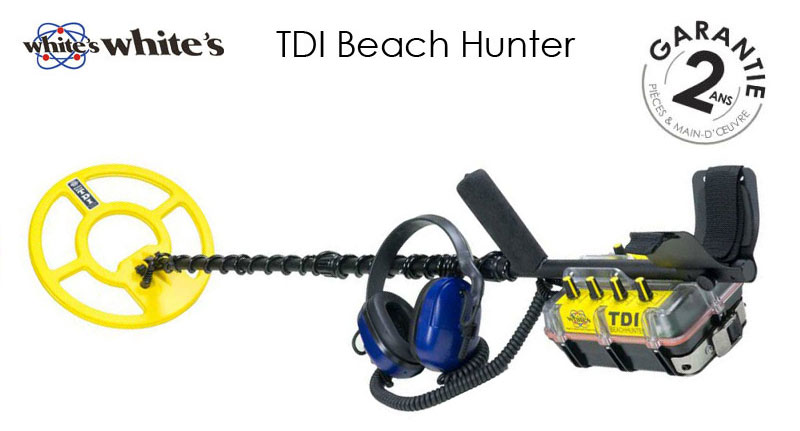 Le détecteur TDI Beach Hunter