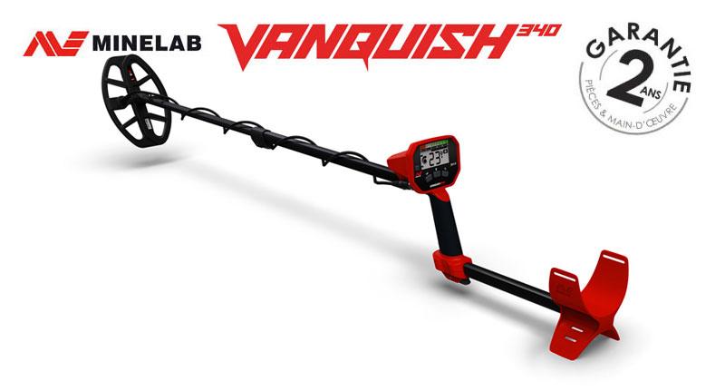 Le détecteur Minelab Vanquish 340
