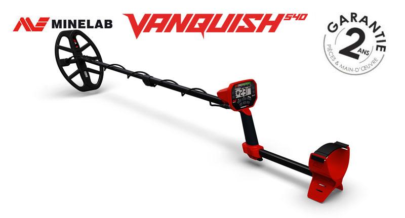Le détecteur Minelab Vanquish 540