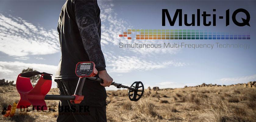 Détection en multi-fréquence simultanée pour tous