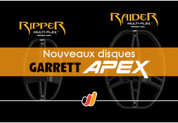 Garrett APEX : disques Multi-Flex DD Ripper et Raider